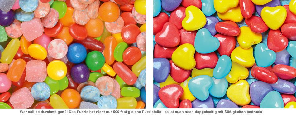 Das unlösbare Puzzle - Süßigkeiten - 2