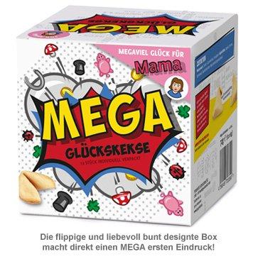 MEGA Glückskekse Geschenkbox für Mama - 3
