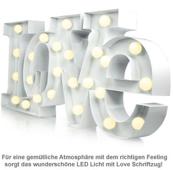 LED Licht Vintage - Love - 2