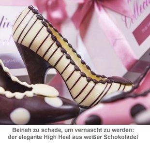 Schokolade - High Heel Weiß - 2