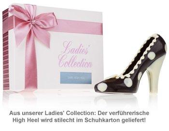 Schokolade - High Heel Schwarz - 3