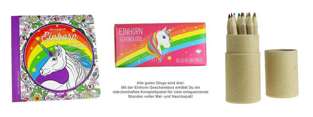 Einhorn Geschenkbox - 2