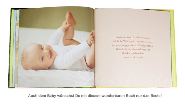 Super Liebevolles Buch - Was ich Euch für Euer Baby wünsche #BW_32