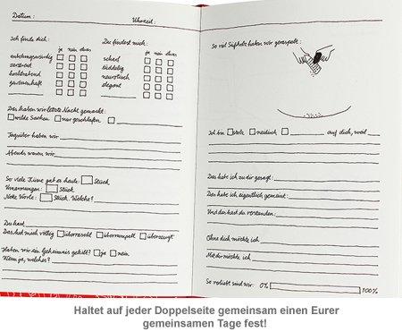 Tagebuch für Paare - zum Ankreuzen und Ausfüllen - 4