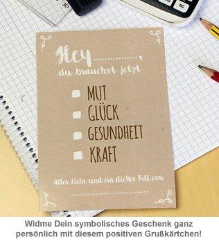 Dickes Fell - Glücksbringer in Geschenkbox weiß - 3