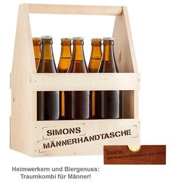 Handwerker Paket - Bierträger mit Wasserwaage - 5