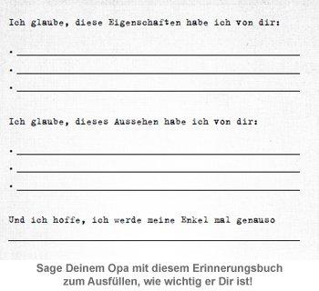 Buch zum Ausfüllen - Was ich an Dir liebe, Opa - 3