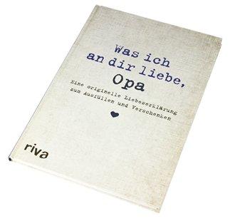 Buch zum Ausfüllen - Was ich an Dir liebe, Opa - 4