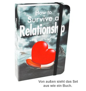 How to Survive a Relationship - Mini Flachmann Set - 4