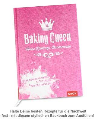Rezeptbuch zum Ausfüllen - Baking Queen - 3