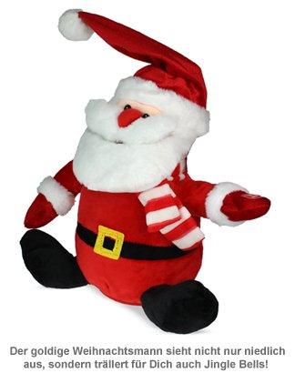 Singender Weihnachtsmann mit tanzender Mütze - 2