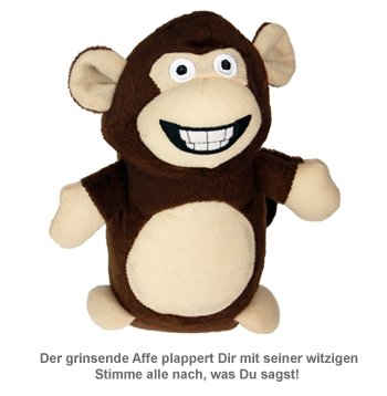 Sprechender Affe mit Aufnahme- und Wiedergabefunktion - 2