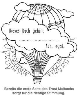 Scheiß drauf - Das ultimative Trost Malbuch - 2
