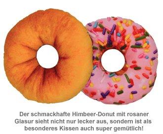 Dekokissen Donut - rosa - 2