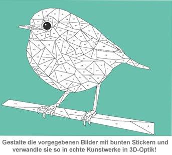Kreativ mit Stickern - Wunderbares Waldleben - 2
