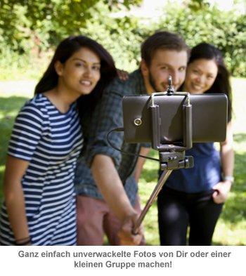 Click Stick - Selfie Stick zum Ausziehen - 3