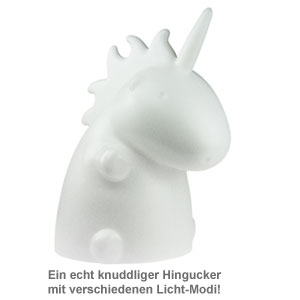 Einhorn Lampe XL - Weiß - 2
