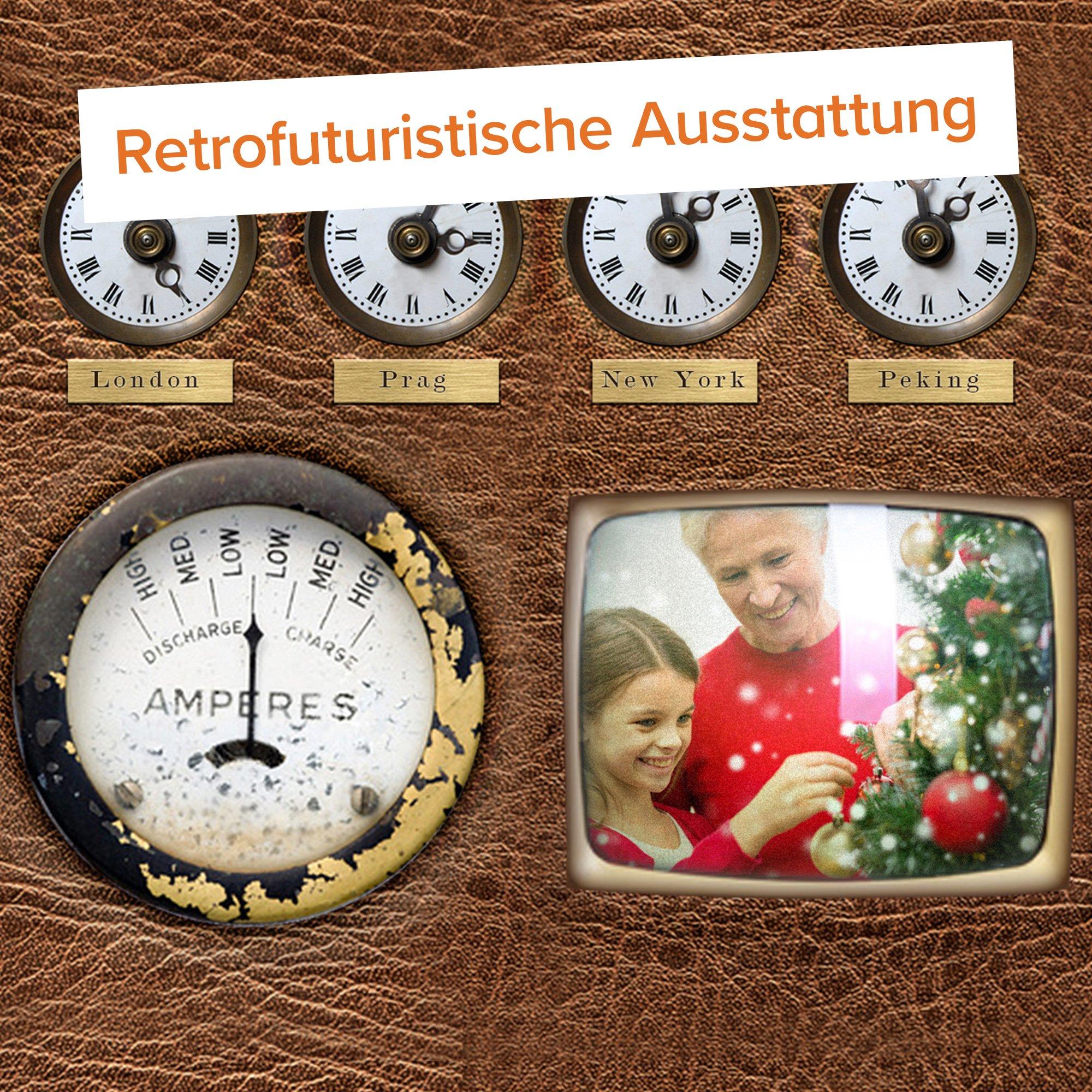 Original Weihnachtsmann Schlitten - 5