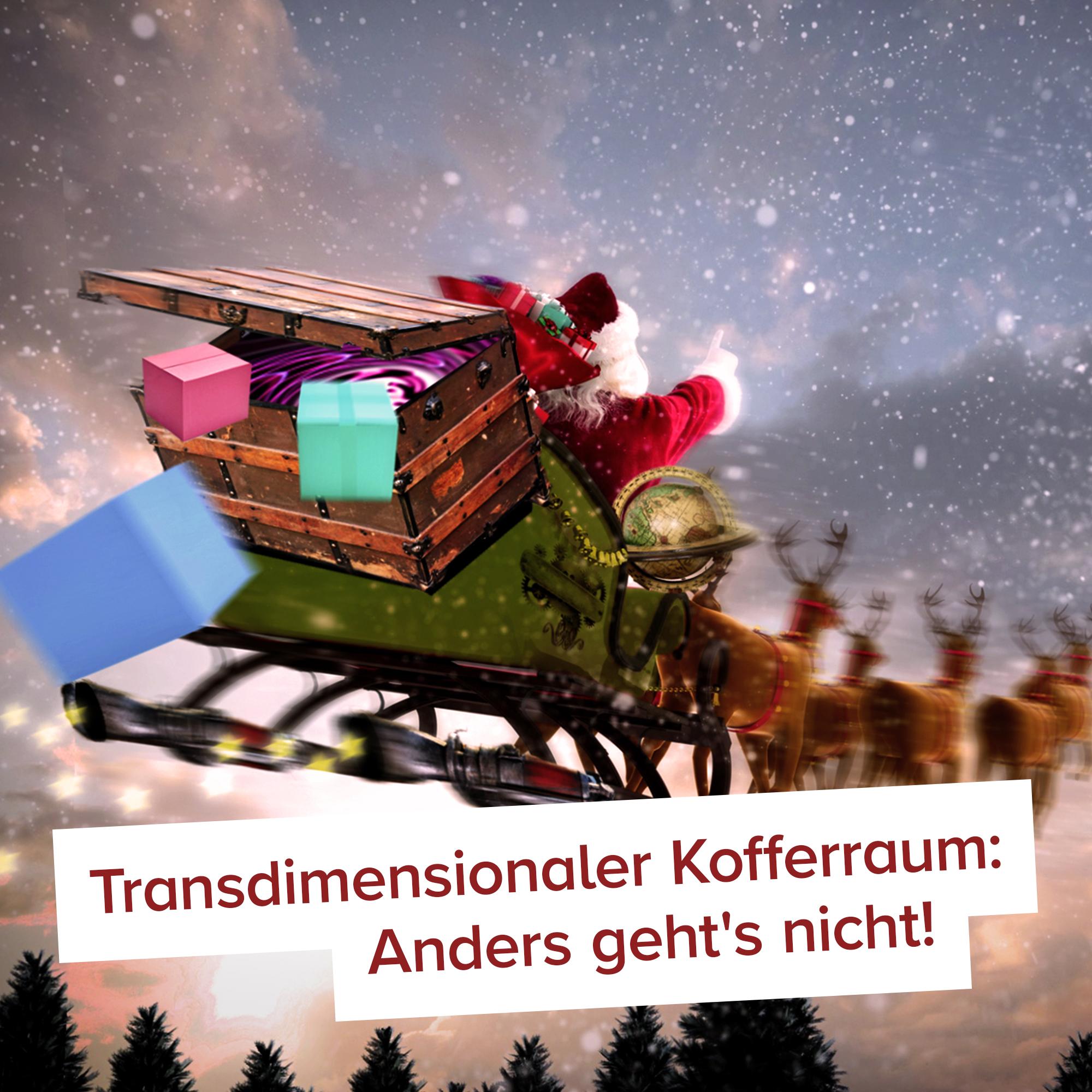 Original Weihnachtsmann Schlitten - 6