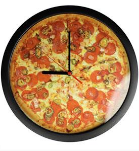 Wanduhr - Pizza - 3