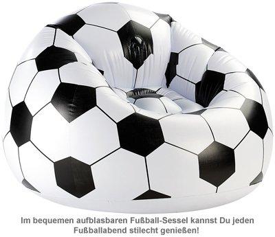 Aufblasbarer Sessel - Fußball XXL - 2