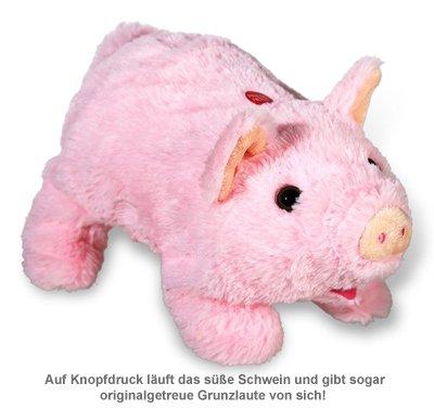 Laufendes Kuscheltier Schwein mit Soundeffekt - 2