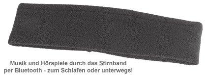 Bluetooth Kopfhörer zum Schlafen - Stirnband - 4