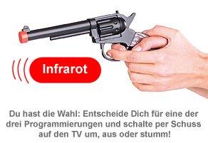 Universal Fernbedienung - Spielzeugpistole - 3