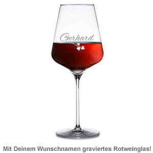 Flaschenträger mit Weinglas personalisiert - Mobiler Weinkeller - 3