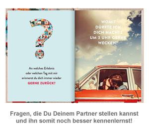 Frage-Buch für Paare - Was denkst Du, Schatz? - 2