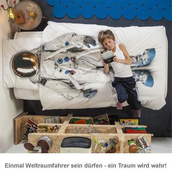 Kinder Bettwäsche Set - Astronaut - 2