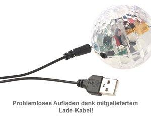 Hubschrauber Ball mit bunter LED-Beleuchtung - 5