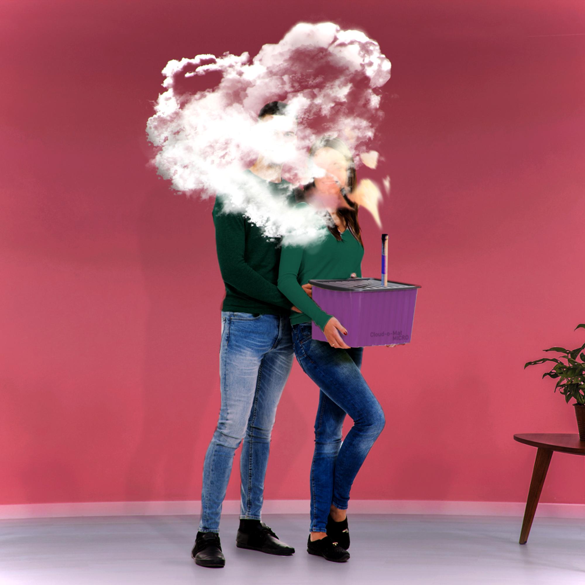 Romantischer Fallschirmsprung durch Wolke 7 - 4