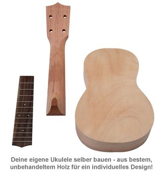 Sopran Ukulele Bausatz - 2