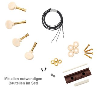 Sopran Ukulele Bausatz - 3