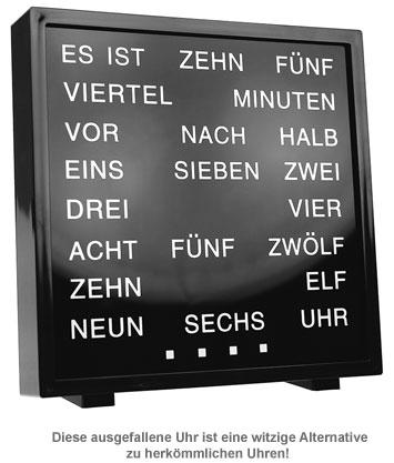 Wortuhr - 2