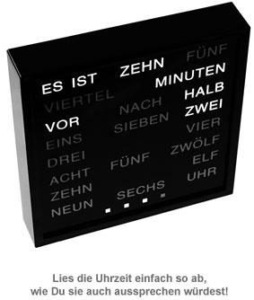 Wortuhr - 3