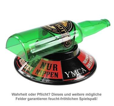 Flaschendrehen Spiel - Spin the bottle - 2