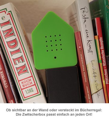 Zwitscherbox mit Vogelgesang - 3