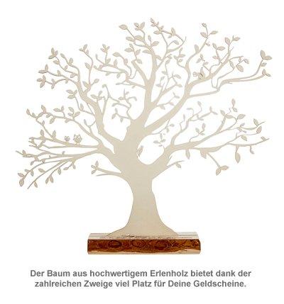 Baum mit Sockel graviert - Konfirmation (groß) - 2