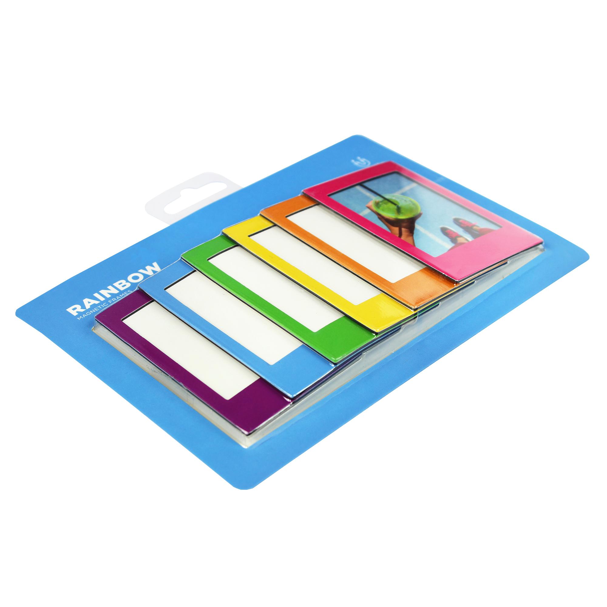 Kühlschrank Uhr Magnetisch : Magnet bilderrahmen fotomagnete set kühlschrankmagnete