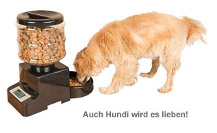 Futterautomat für Katzen und Hunde - mit Zeitschaltuhr - 3