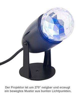 LED Projektor für Disco Licht - 2