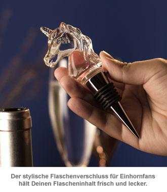 LED Flaschenverschluss - Einhorn - 2