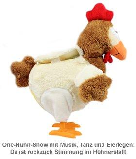 Eierlegendes Kuscheltier Huhn mit Sound - 2