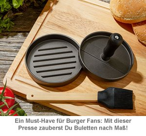 Burgerpresse - Patty Maker Grillset - 2