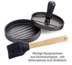 Burgerpresse - Patty Maker Grillset - 3