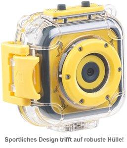 Kinderkamera HD - Action Cam mit Unterwassergehäuse - 4