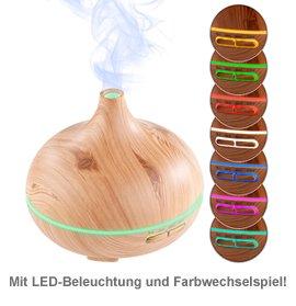 Luftbefeuchter mit Aroma Diffuser und LED Farbwechsel - 3