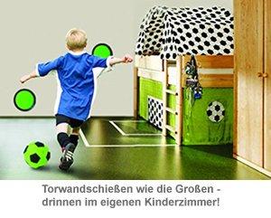 Torwandschießen für Kinder - Indoor Klett Fußball Set - 2